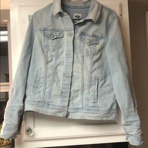 Woman jean jacket